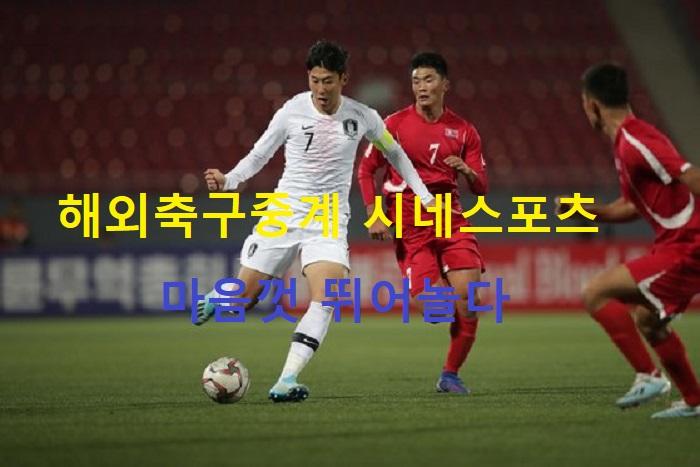 해외축구중계 시네스포츠